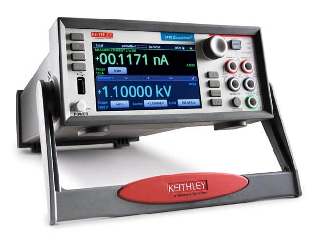 SMU 2400 Series: Graphical Touchscreen and 2-Line Display, Single Channel