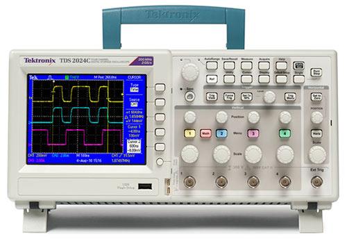 Máy hiện sóng số Tektronix TDS2024C, 200MHz, 4 kênh