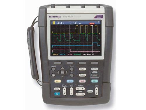 Máy hiện sóng cầm tay Tektronix THS3014-TK (100MH, 4CH, 2.5GS/s, 4 kênh cách ly, túi đựng)