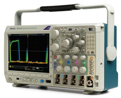 Máy hiện sóng số Tektronix MDO3032 (350Mhz, 2CH, 2.5GS/s, chức năng phân tích phổ, phát xung, phân tích logic, phân tích giao thức