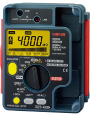 Đồng hồ đo điện trở cách điện Sanwa MG500