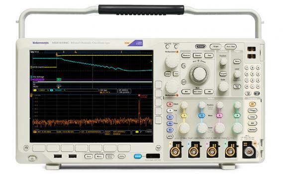 Máy hiện sóng Tektronix MDO4054C (500Mhz, 4 kênh, phân tích giao thức, phân tích logic, phát xung)